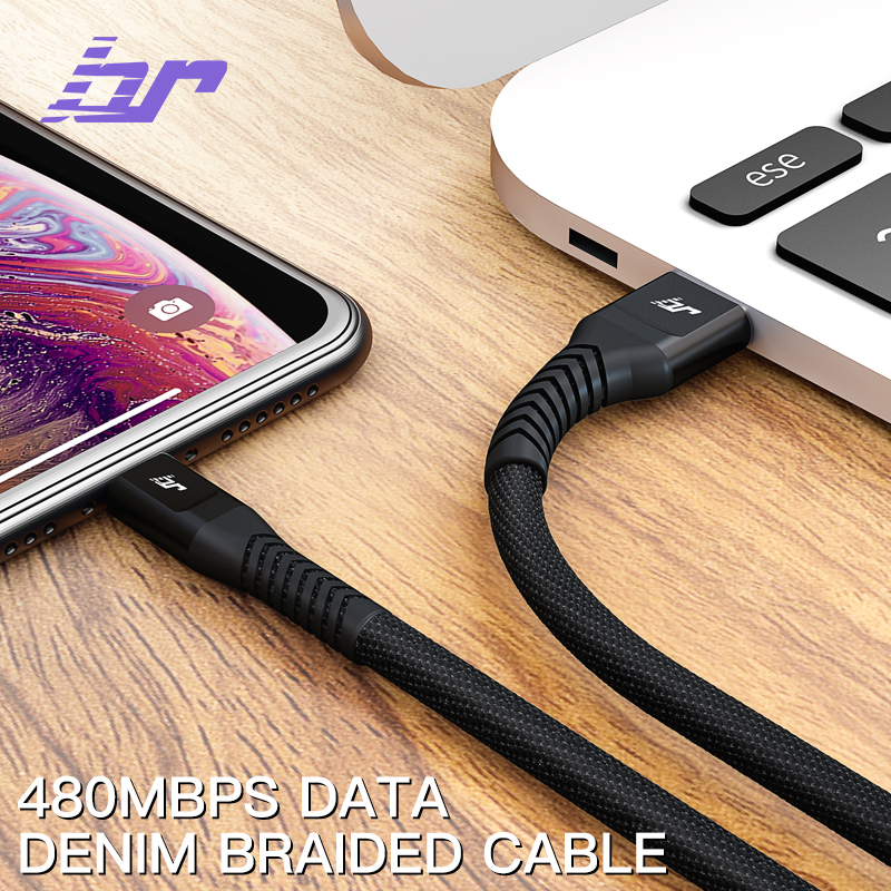 Branded cowboy mobile charger spare parts shell raw material fast charging data cable cord