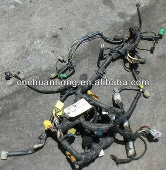 1985-1986 auto mr2- mk1 engine wiring harness - auto transmission