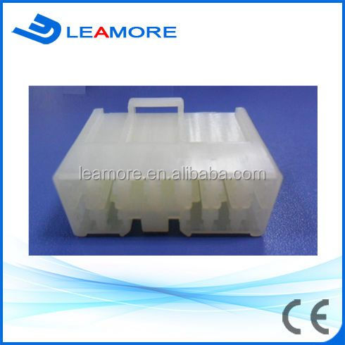 Automotive Male / white color 12 pins Daihatsu Xenia/Toyota Avanza window closing connector