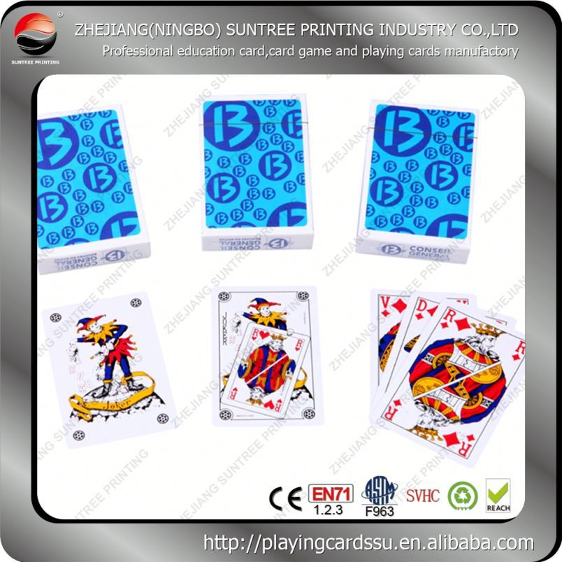 2016 Suntree printing Sights Hot Animation Animals Playing Cards