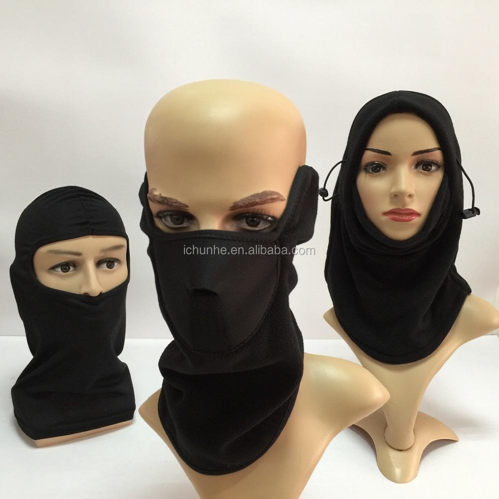 Hot Menjual Polar Fleece Half Face Mask Tahan Angin Promosi Pabrik Masker