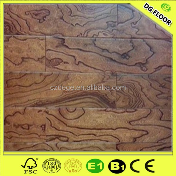 12mm hdf ac4 synchronous register emboss laminate flooring with beautiful colors