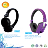 2013 new folding plastic fancy color headphones for kids and girls