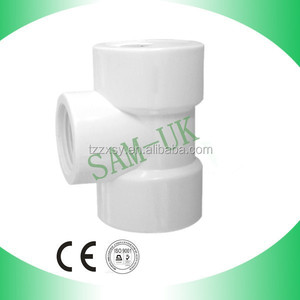 PVC Female Reducer Tee Pipe Fittings Reducer three way 2 Inch