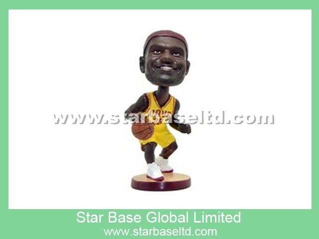High quality custom NBA basketball player sport bobblehead