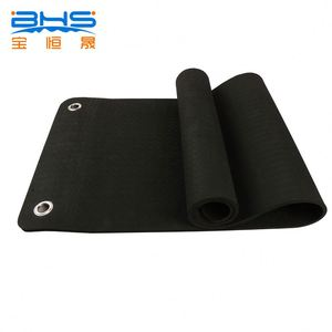 gym equipments massage foam mats holes for hang yoga mat