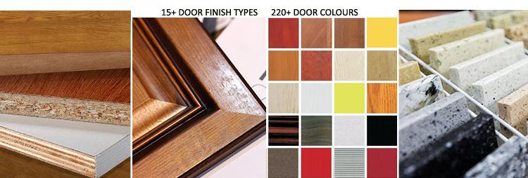 Kitchen furniture E1 European standard cupboard UV Lacquer cabinet