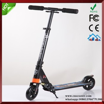 Town Rider Adult Scooter Suspension Push Kick Folding Large 200mm Wheels