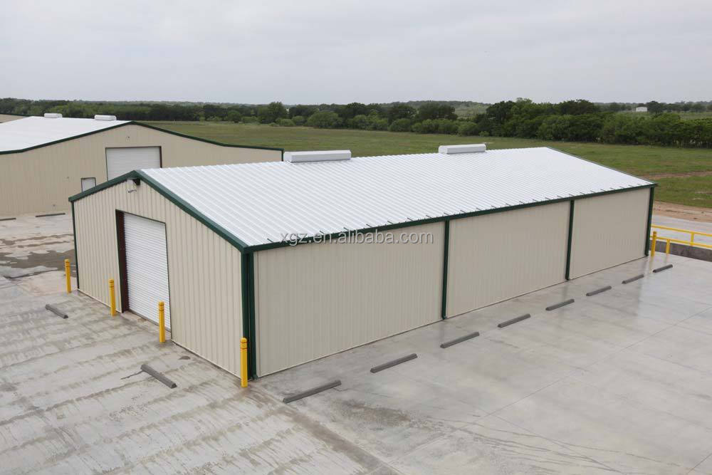 Prefabricated easy assembly steel frame barn