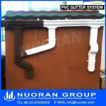 Eaves U Pvc Rain Gutter Profile Best Prices 5 5 2 Inch 7