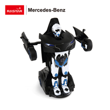Rastar wholesale toy magic transform robot rc stunt car for kids
