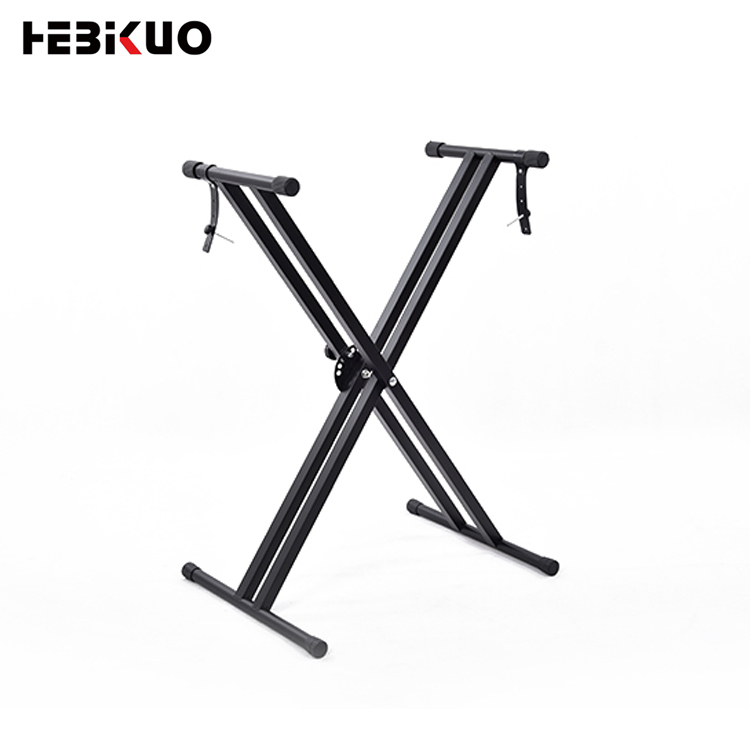 Q-2X Heavy-Duty Double X frame electronic type keyboard stand music