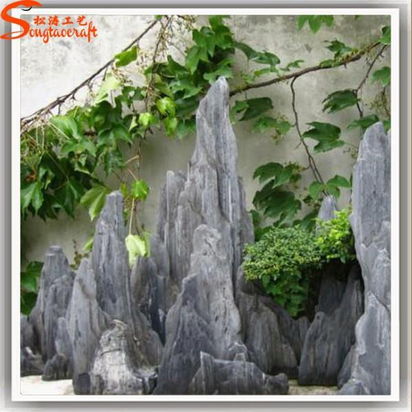 D coration de jardin mur cascade fontaines en fiber de verre rocher cascade graphique paysage for Decoration jardin bouddha