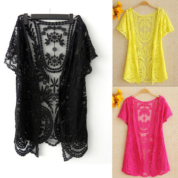 Blouse Overhemd.Instyles Laatste Zomer Holle Out Top Blouse Overhemd Borduurwerk