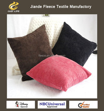 CUSHION AND PILLOWS CUSTOMIZED cusion solid color red brown black