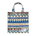 "Design Good PVC Medium And Shoulder Bag Colored ""Z"" Lattice Design For Shopping"