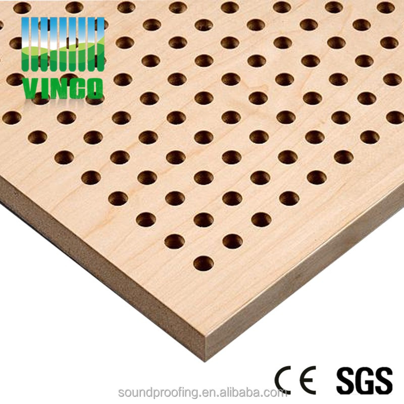 sound diffuser for meeting room diy wooden perforated acoustic panel wall wood paneling