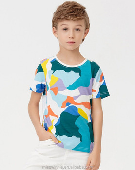 21974c6d90ef5 kids t-shirt wholesale children camo t shirt baby boy names unique pictures