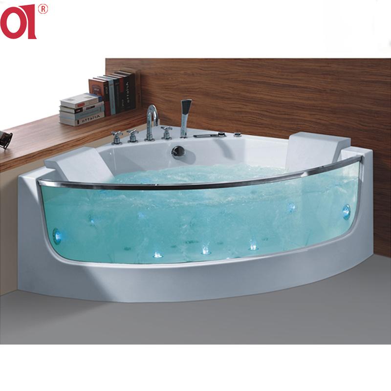 Ad-625 Best Price 2 Person Bathtub Acrylic Bath Tub Indoor Irregular ...