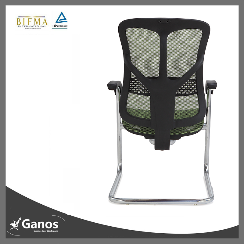 high end green office chair best mesh office guest chair