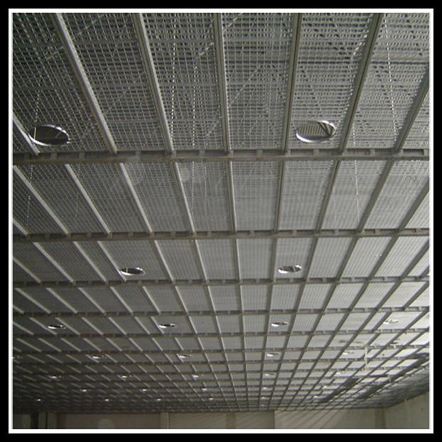 Rooftop Walkway Sprung Roof Workshop Ceiling Steel Grating