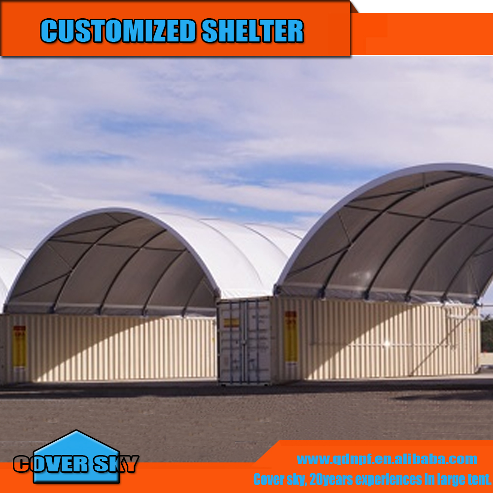 Outdoor used industrial building Open Top Container Tarps Cover