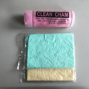 Super water absorption PVA quick drying synthetic chamois car cleaning cloth