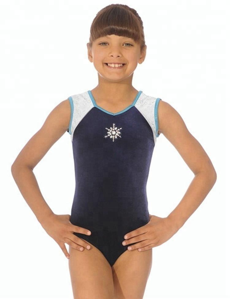Custom nieuwe collectie kinderen spandex volwassen gymnastiek leotards