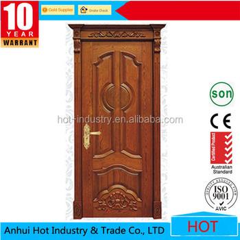 Simple Main Door Wood Carving Design,Carved Wooden Door,Solid Wooden on