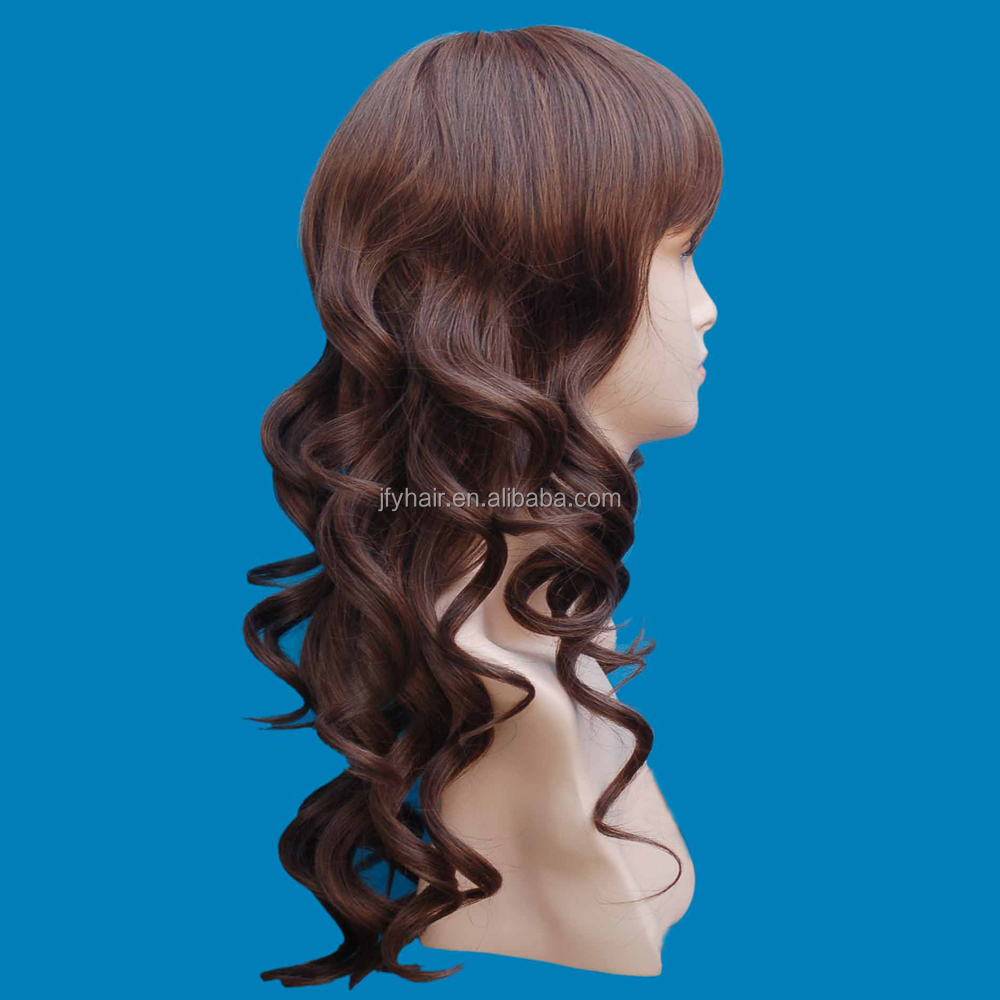 fashion style synthetic wigs ombre, christmas wigs for white women