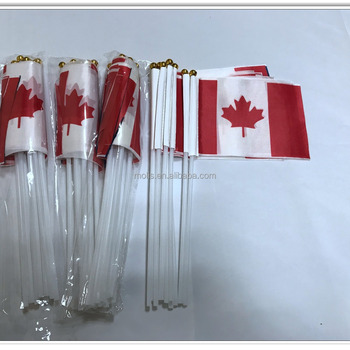 Mini 10*15cm 4*6inches hand held Canadian Canada flags