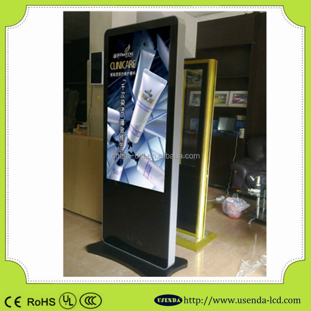 65inch TFT Interactive Multi-touch AD Table Display Monitor,LCD HD Digital Signage, Advertising Table Touch Screen