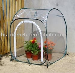 Tube frame with PVC cover cold frame hot house kitsHX52042