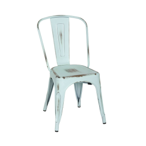 High Quality Hot Selling Wholesale Cheap Colorful Vintage Metal Restaurant Chair For Coffee Shop