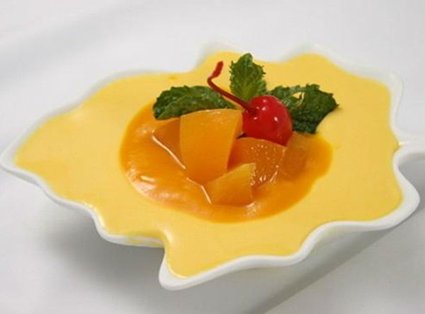 Mango Fruit Pudding Powder in Different Flavors Wholesaler
