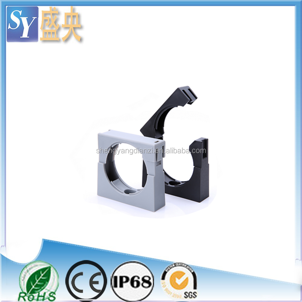 China SY Nylon Fixed Bracket for Plastic flexible corrugated pipe conduit AD10.0
