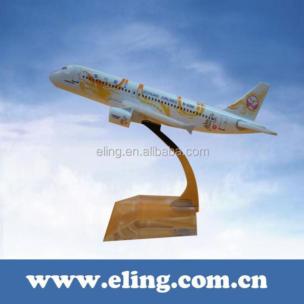 CUSTOMIZED LOGO RESIN MATERIAL airlines model air craft