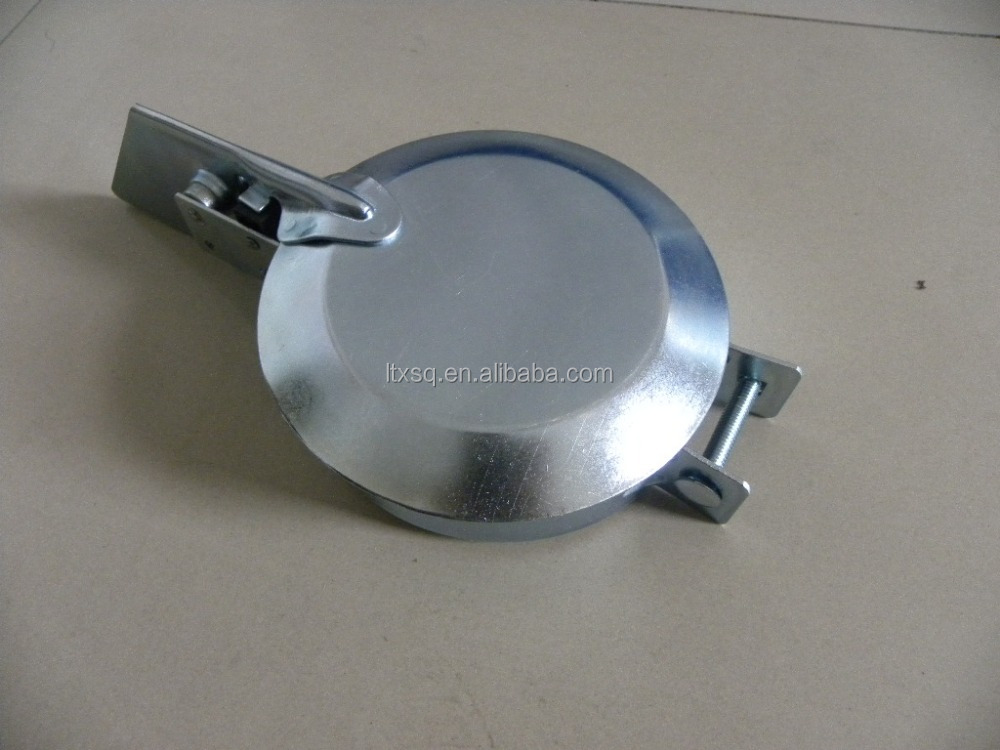 1-1//2 Inch Tractor Exhaust Silencer Weather Flap Rain Cap Muffler Cover 1.5 Gray