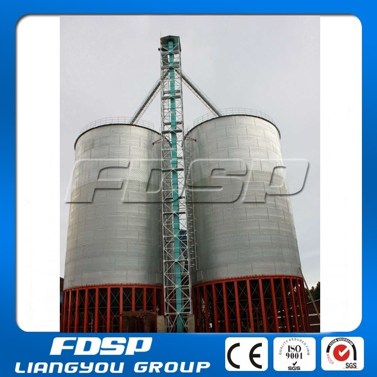 Easy Building Feed Storage Steel Silo For Poultry Farm For Wheat ...