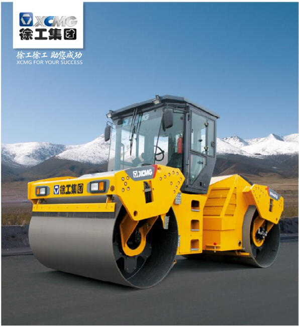 XCMG static china mini price road roller compactor XD132