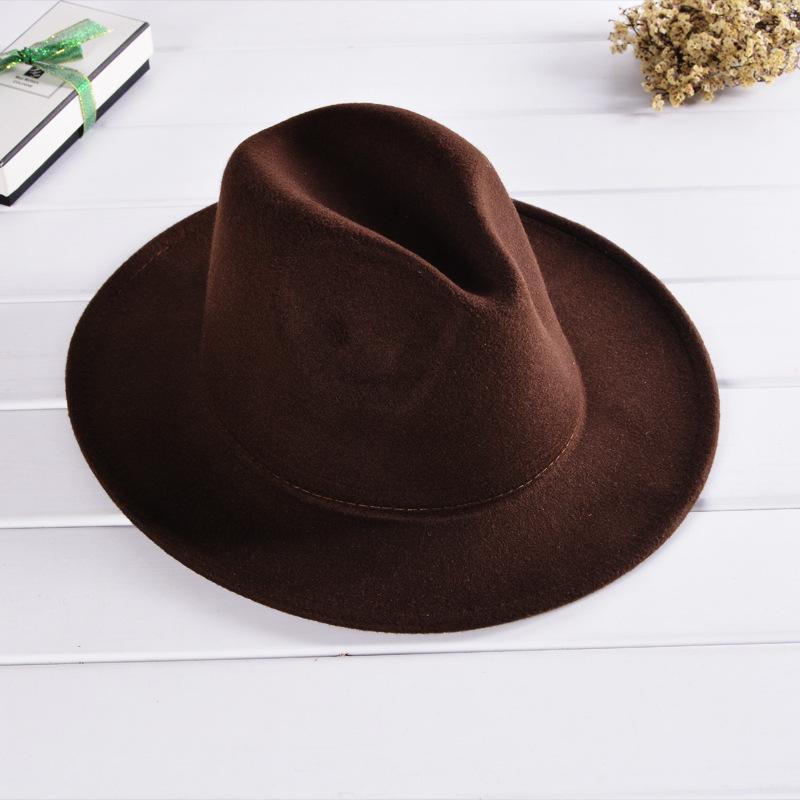 1bed318c2dcc7 Wide Brim Felt Hat
