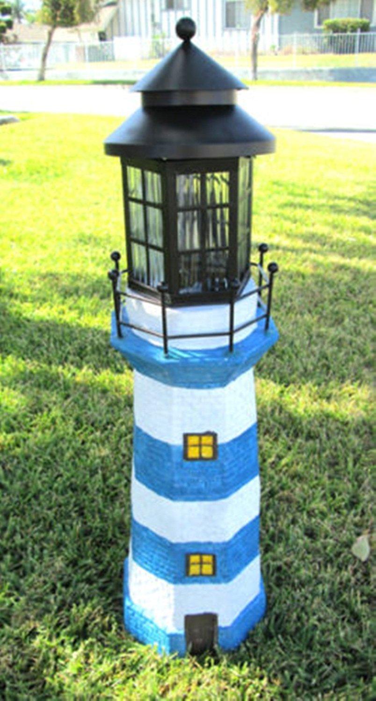 Cheap Solar Powered Garden Lighthouse, find Solar Powered Garden ...