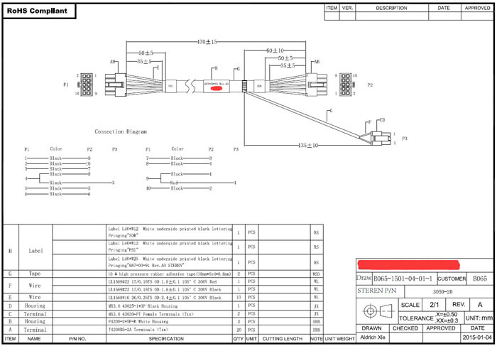 Wire Harness Drawing Wire Harness Assembly Drawing - Wiring Diagrams