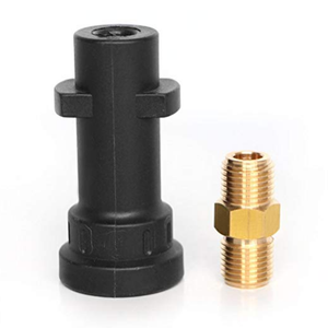 Foam Cannon Adapter Male Fitting Connector for Karcher K Series K2/K3/K4/K5/K6/K7 Pressure Washer Accessories