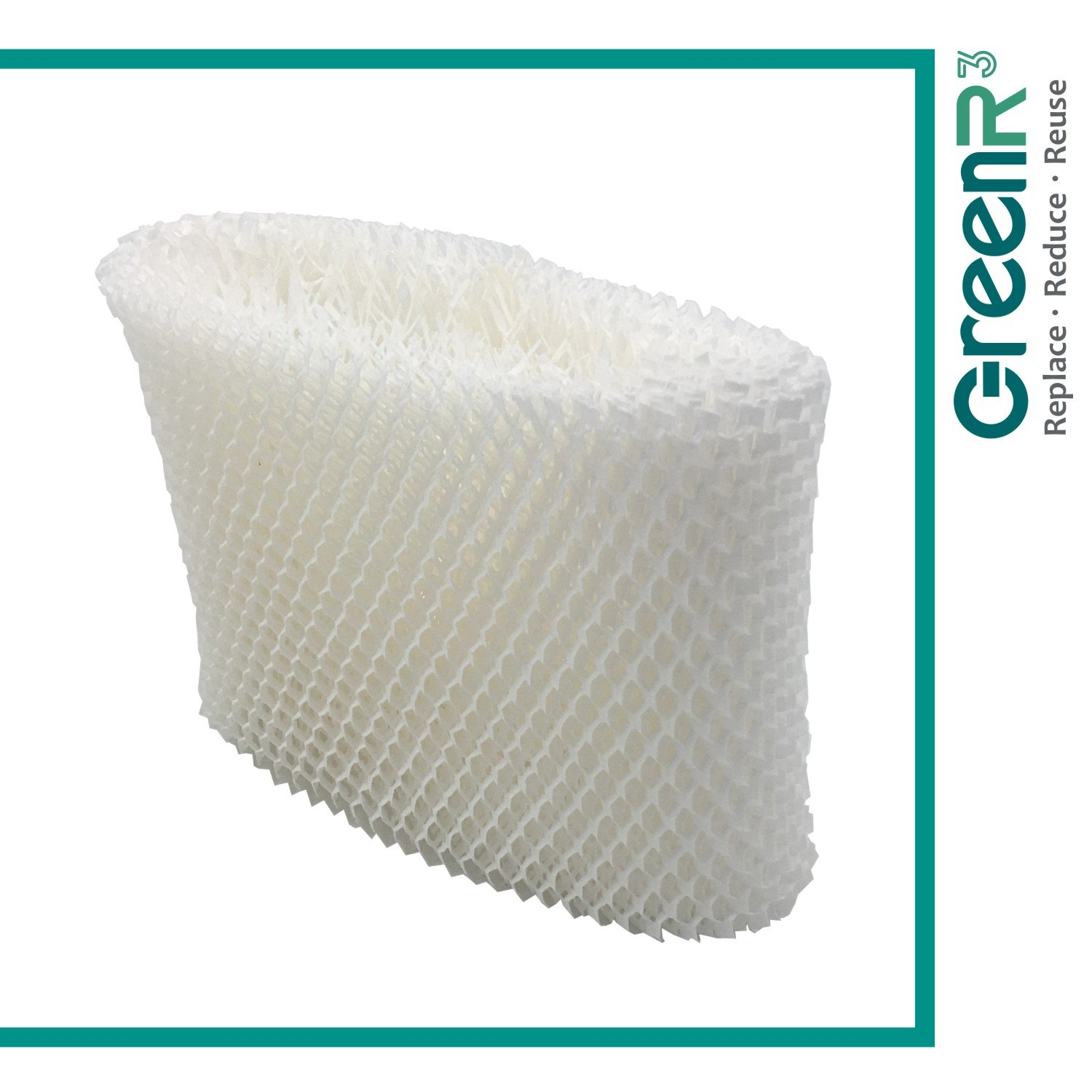 GreenR3 1-PACK Wick Filters Humidifiers for Honeywell HAC-504 fits HCM-1000 HCM-2000 HCM-315T HEV-355 HCM-500 HCM-550 HCM-600 HCM-300 HCM-350 ECM-250i HAC-504V1 WF2 HEV355 HEV312 HW500 Parts and more