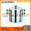 Stainless Steel Two And Three Layer Cooking Pot