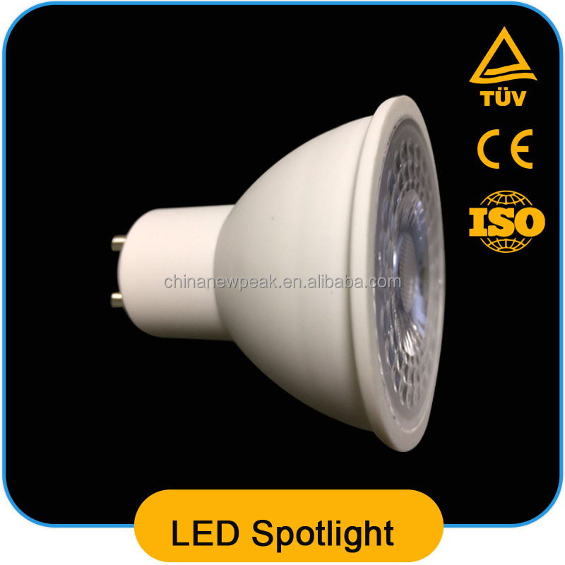 3w 5w 7w Dimmable Smd Gu10 Led Spotlight 38 Degree Beam Angle Pbt+ ...