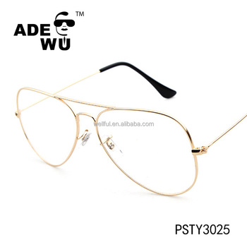 Ade Wu Big Frame Classic Aviator 3025 Optical Glasses China Ce Uv400 ...