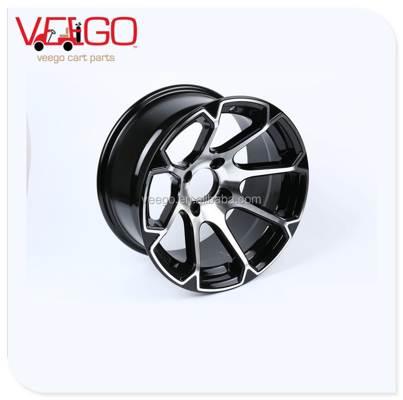 "Alloy golf cart wheel rim 12""x7"