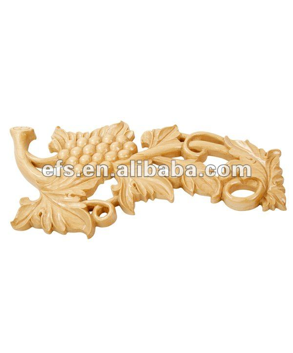 upscale golden oak wood carving onlays,wood decorative onlays